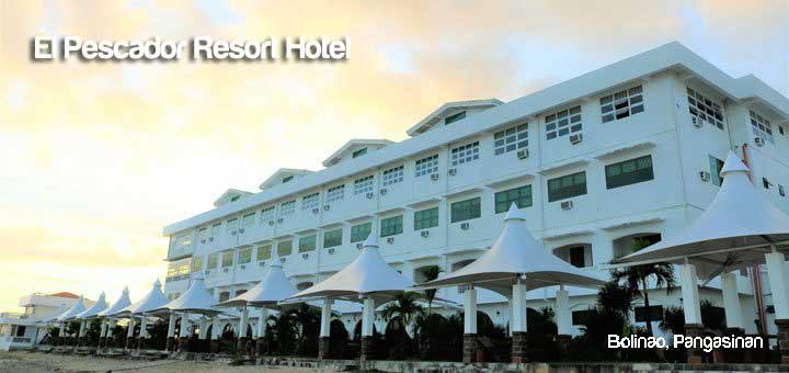 El Pescador Resort Hotel In Bolinao Pangasinan